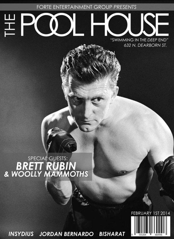 The Pool House XCII - Castle Chicago - 02/01/2014 - NO DRESS CODE - NO COVER!