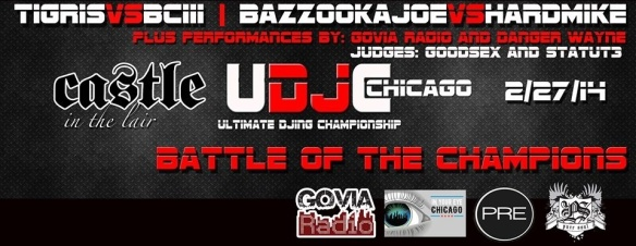 ULTIMATE DJING CHAMPIONSHIP @ CASTLE CHICAGO - PURESOUL TAKEOVER - 02/27/2014