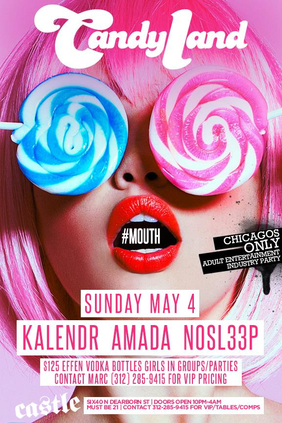 CANDYLAND #MOUTH ft KALENDR | AMADA | SO SL33P @ CASTLE - 5/4